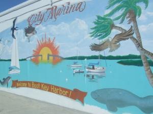 Marathon City Marina Mural