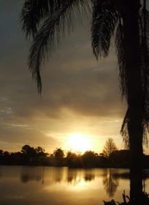 Florida sunrise near Melbourne
