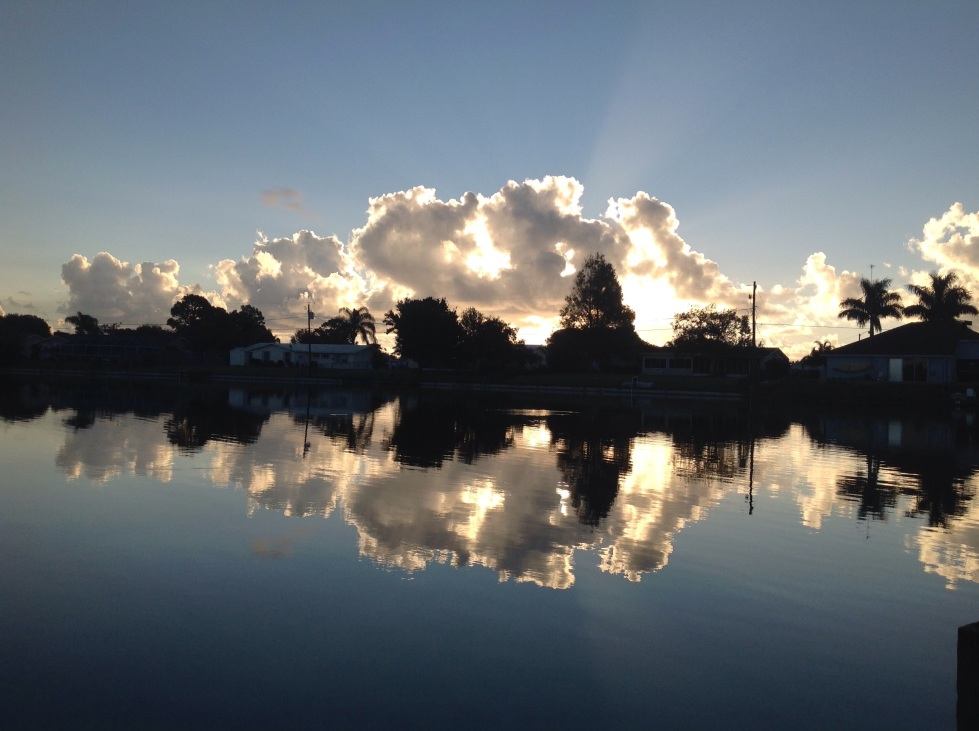 The Old Florida town of Sebastian Florida offers plenty of opportunities for reflection. on of