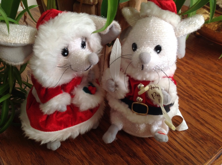 Not a creature was stirring, not even a mouse. jpeg Christmas mouse toys
